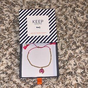 Keep Collective heart bracelet
